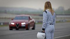 Rachele Sangiuliano aspetta il suo turno