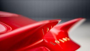 Radford Motors Lotus Type 62-2, dettaglio della coda