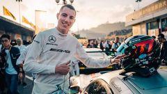 Raffaele Marciello, 24 anni, dopo un passato in Ferrari, da due stagioni è pilota Mercedes GT