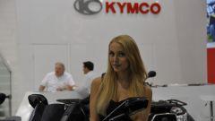 Ragazze Kymco Intermot 2016