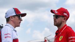 "Raikkonen consola Vettel: ""I media italiani possono essere duri"""