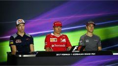 Raikkonen e gli altri piloti del Circus dopo le Prove Libere del Gran Premio di Baku - F1 2017, GP Baku
