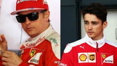Raikkonen e Leclerc - Scuderia Ferrari