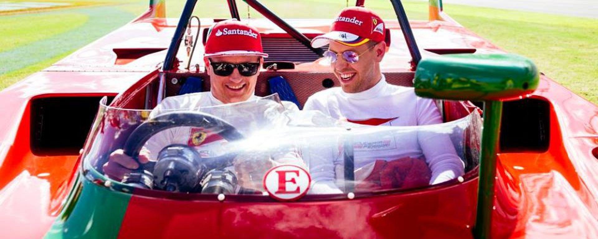 Raikkonen e Vettel alle Finali Daytona Corse Clienti Ferrari