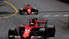 Raikkonen e Vettel - F1 2017 GP Monaco