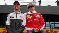 Raikkonen in compagnia di Gutierrez al GP Austria
