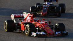 Raikkonen nei test del Barcellona - F1 2017