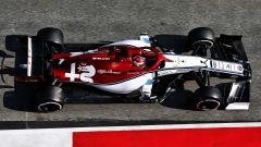 Raikkonen nei test di Barcellona con l'Alfa Romeo