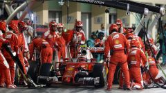 Raikkonen, pit stop - F1 GP Abu Dhabi