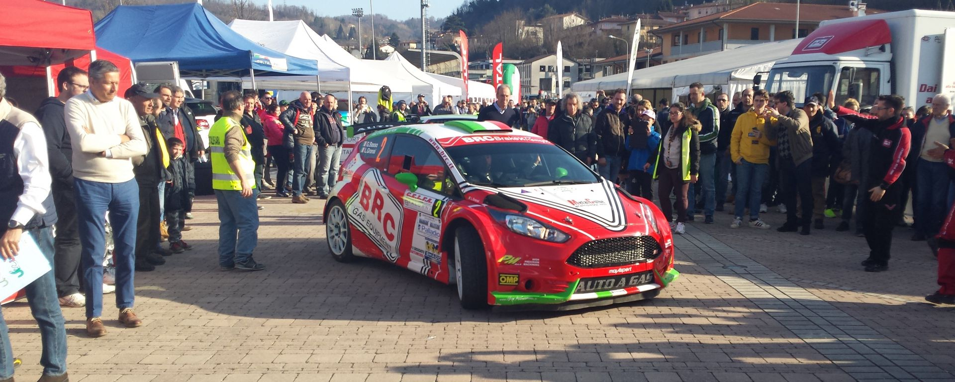 Gara 1:  Rally del Ciocco e Valle del Serchio 2016