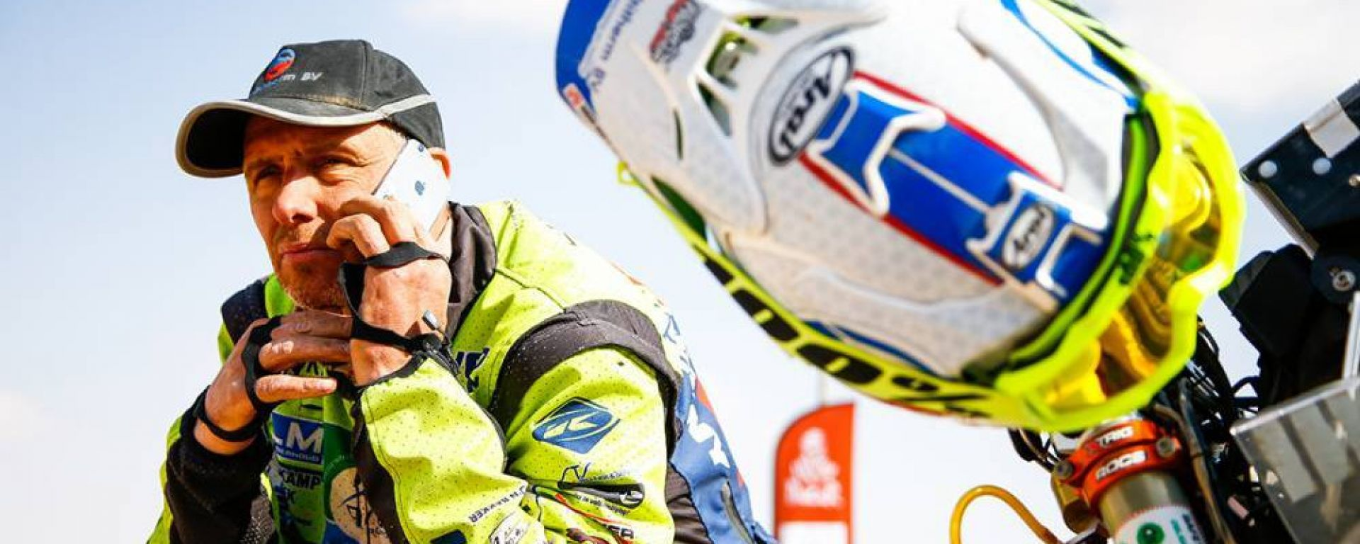 Rally Dakar 2020, 10° tappa: Edwin Straver (KTM)