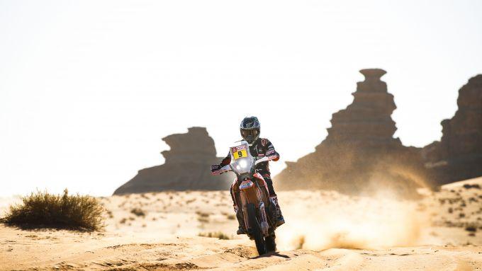 Rally Dakar 2020, tappa 3: Ricky Brabec (Honda) [Foto: ASO]