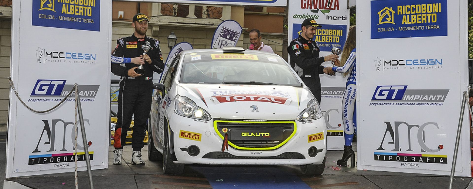 Rally del Taro - Peugeot Competition 208 Cup Pro