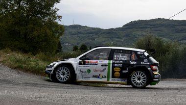 Rally Due Valli 2021: Giandomenico Basso (Skoda)