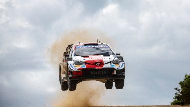 Rally Italia Sardegna 2021: Sebastien Ogier (Toyota)