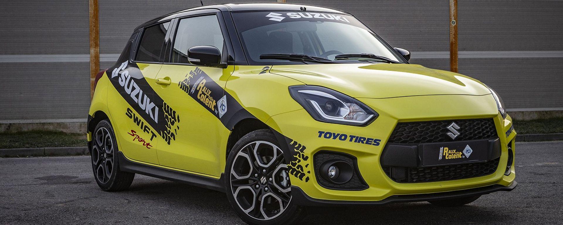 Rally Italia Talent 2019: ecco il Grande Fratello dei motori con Suzuki