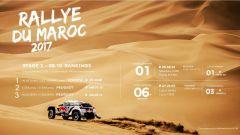 Rally Marocco, Tappa 3, Infografica