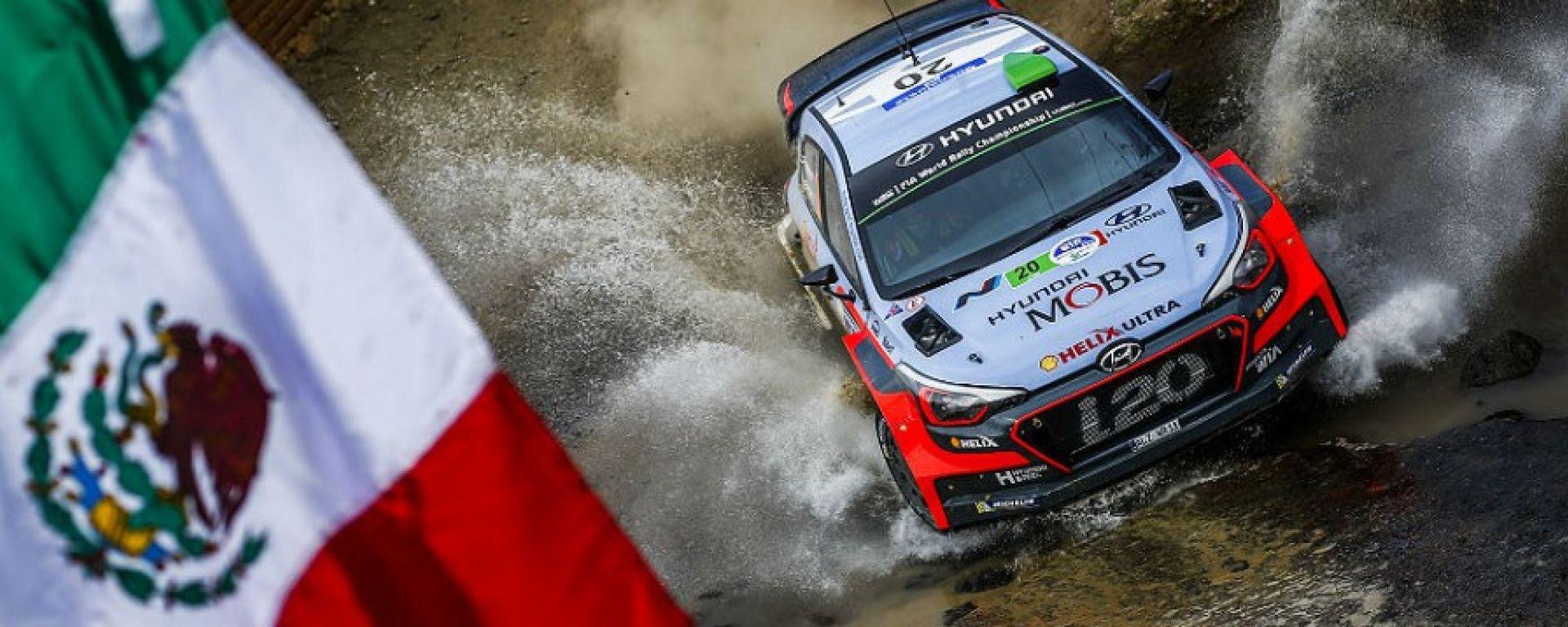 Rally Messico - La Hyundai di Paddon