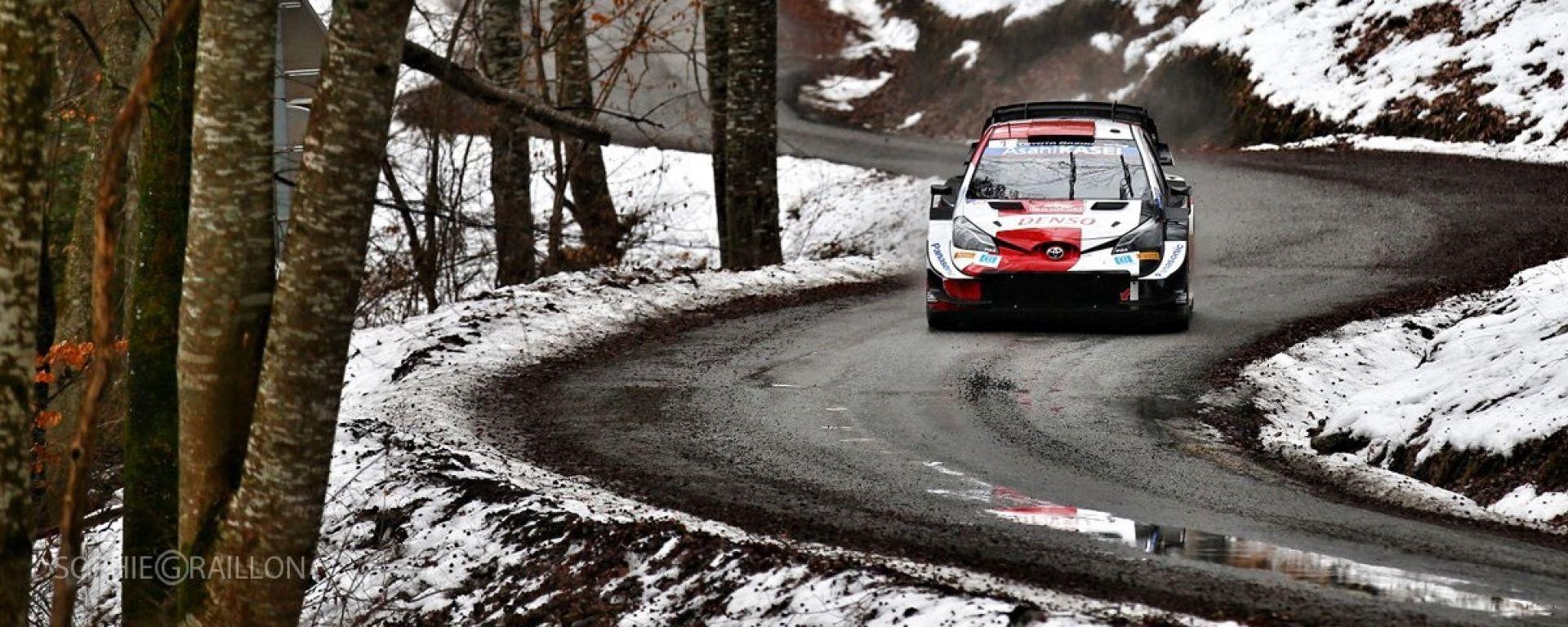 Rally Monte Carlo 2021 - Sebastien Ogier (Toyota Yatis WRC)
