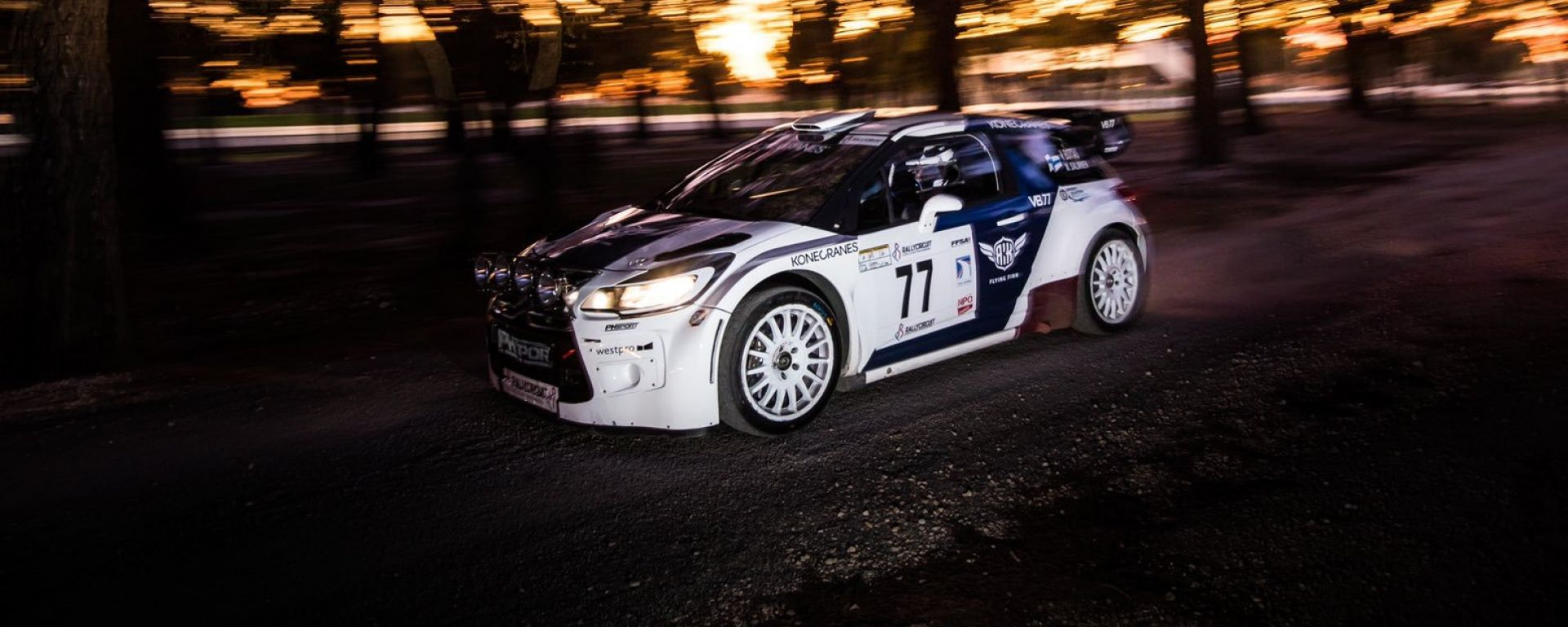 Rally Paul Ricard, Valtteri Bottas (Citroen DS3 WRC)