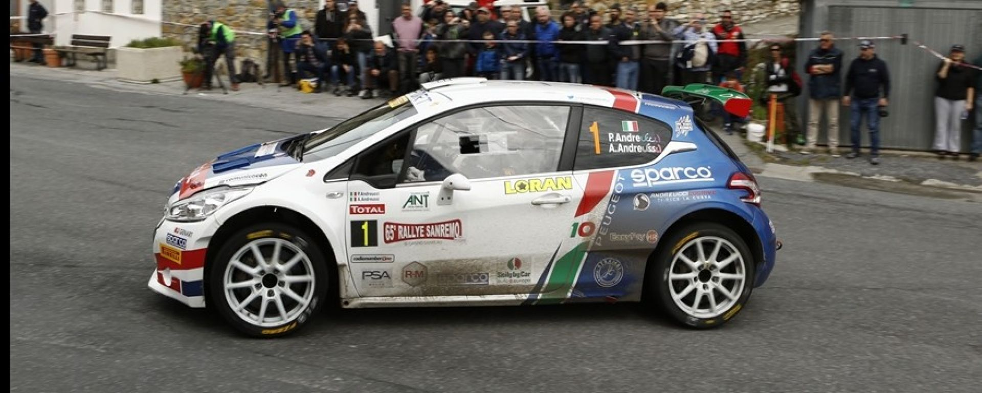 Rally Sanremo 2018: Andreucci trionfa insieme a Peugeot