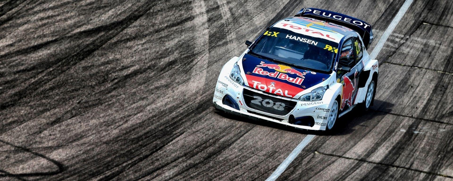 Rallycross 2017: le Peugeot 208 WRX a Hell in Norvegia