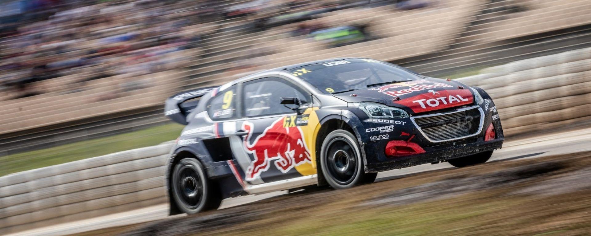 Rallycross 2018, GP Norvegia: Peugeot, il podio è l'obbiettivo