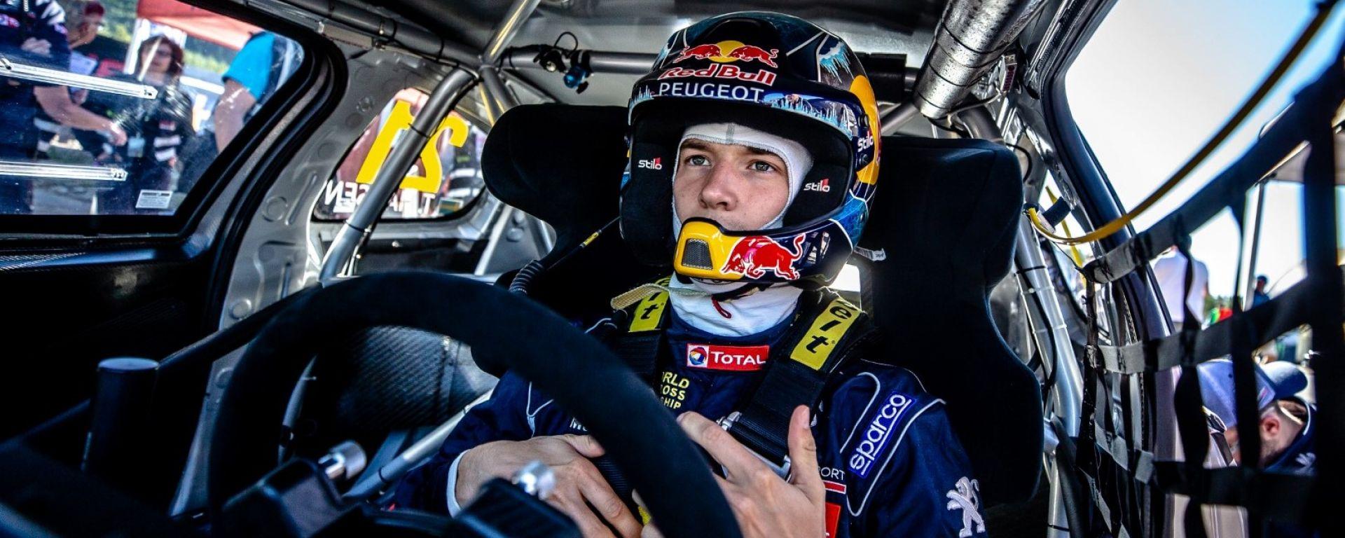 Rallycross 2018: le dichiarazioni degli uomini Peugeot dopo il GP di Holjes
