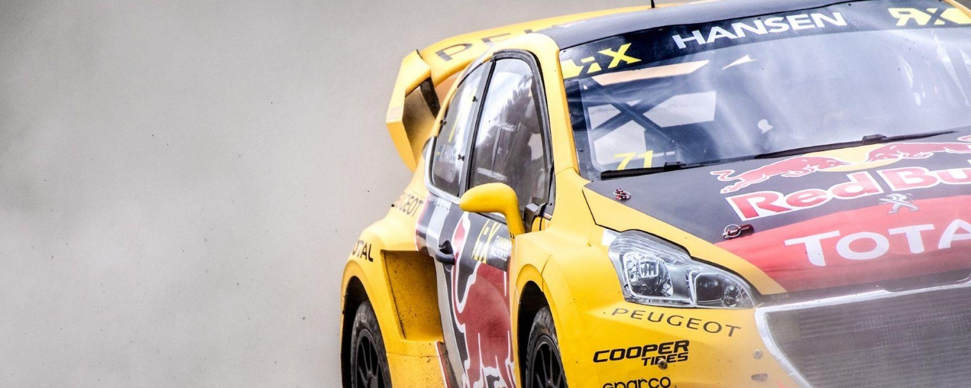 Rallycross 2018: Peugeot manca il podio al GP di Hell