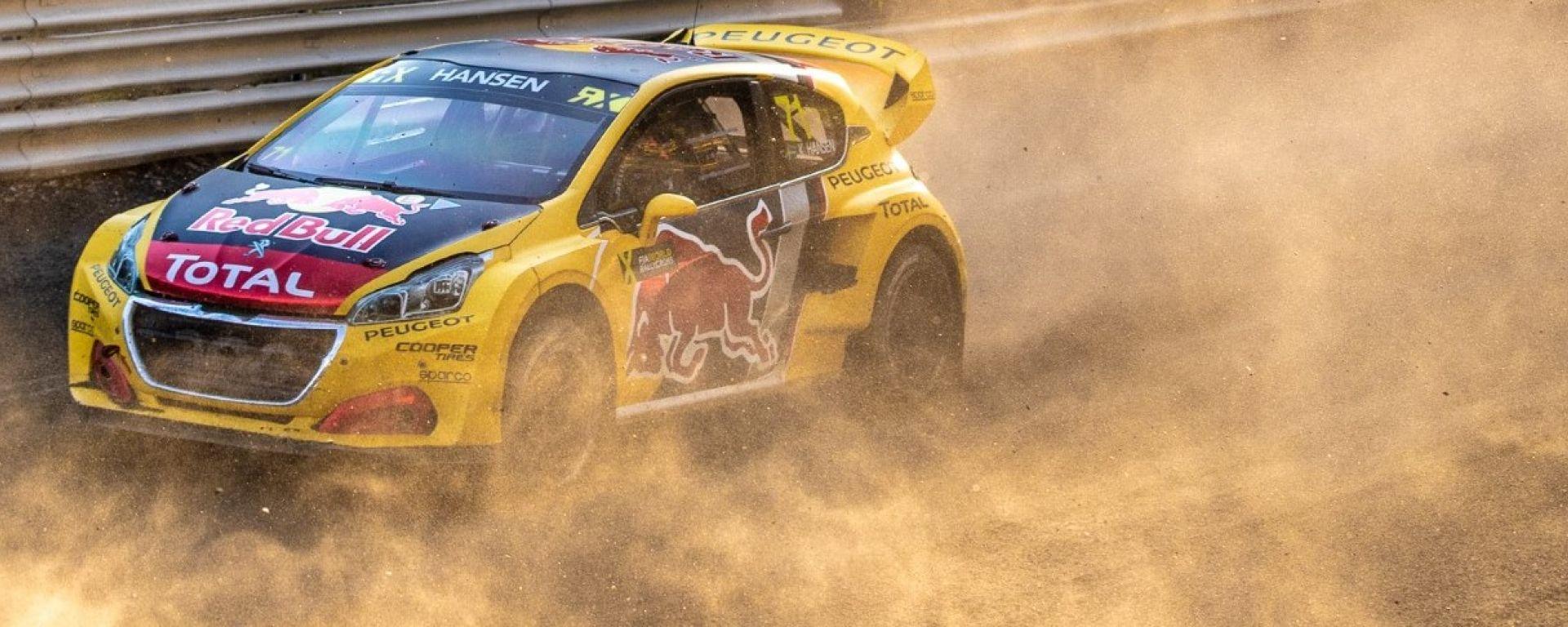 Rallycross 2018: solo il sesto posto per Hansen a Buxtehude