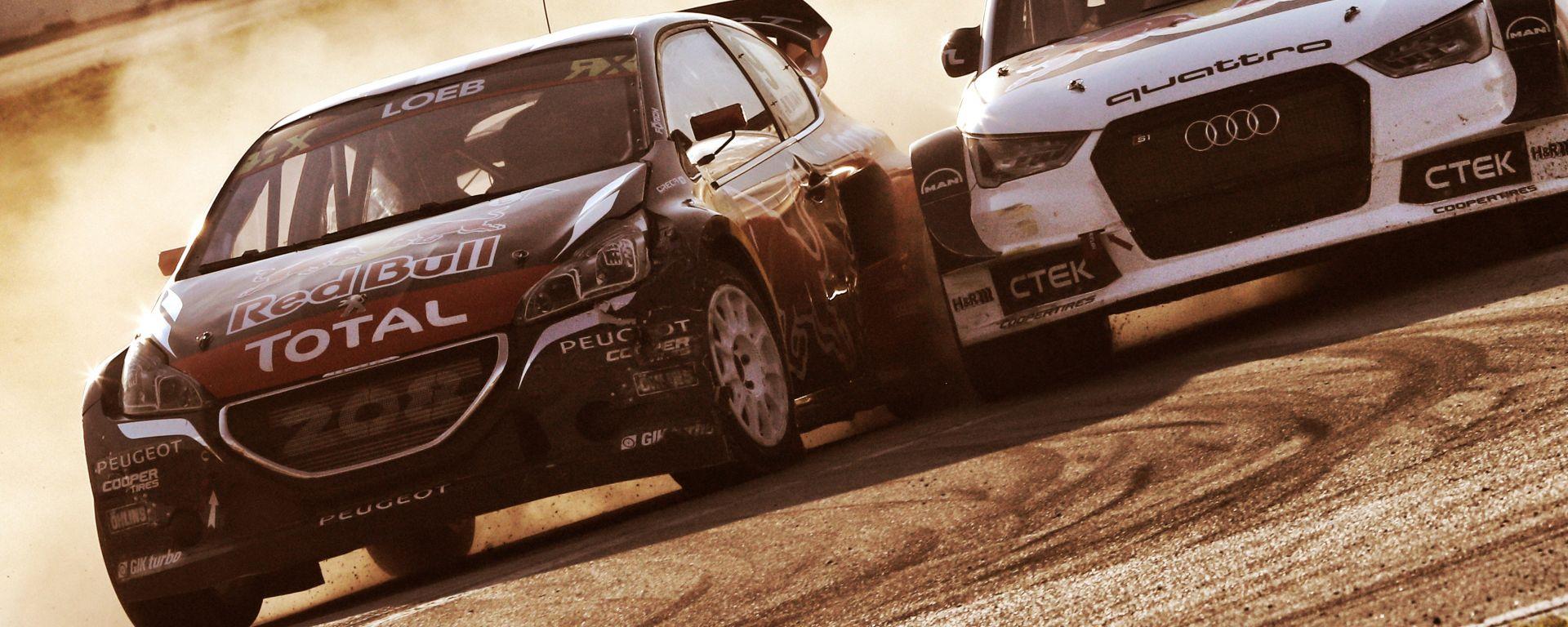 WRX 2016: Sebastien Loeb regala il podio alla Peugeot