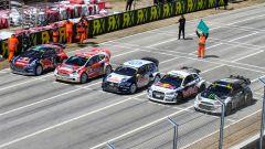 Rallycross Mettet starting grid