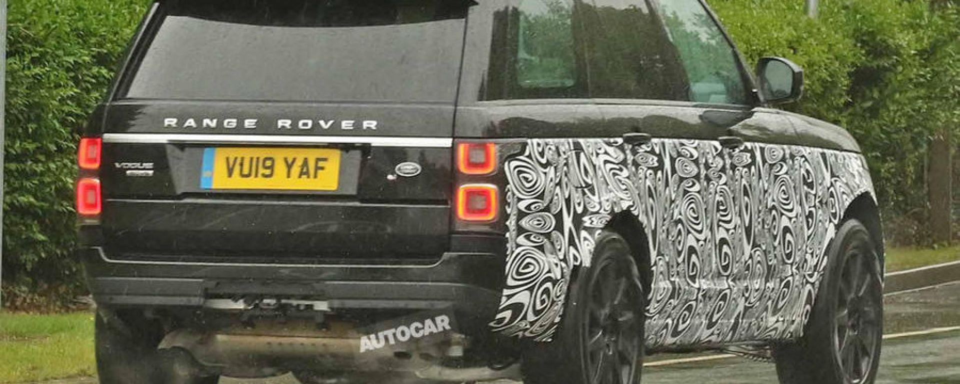 Range Rover 2021: foto e dettagli della prossima generazione