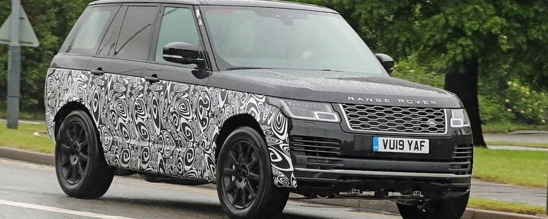 Range Rover 2021: ritocchi estetici e motore V8 Bmw