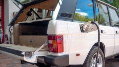 Range Rover elettrica by E.C.D. Automotive Design: dettaglio del posteriore