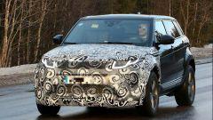 Range Rover Evoque 2018 test mule