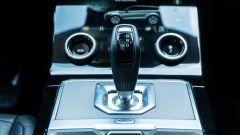 Range Rover Evoque 2019: la leva del cambio automatico
