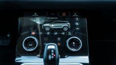 Range Rover Evoque 2019: le regolazioni del climatizzatore e delle modalità di guida