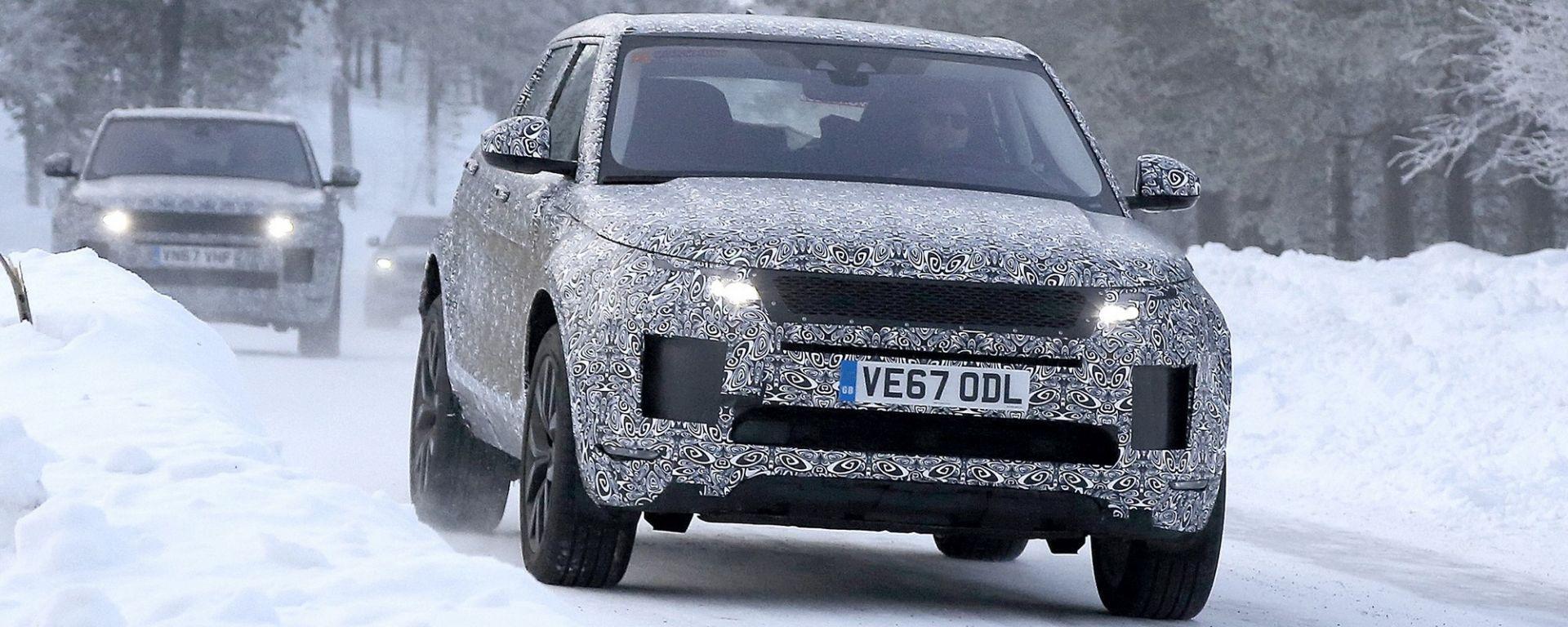 Nuova Range Rover Evoque 2019: foto spia e anticipazioni ...