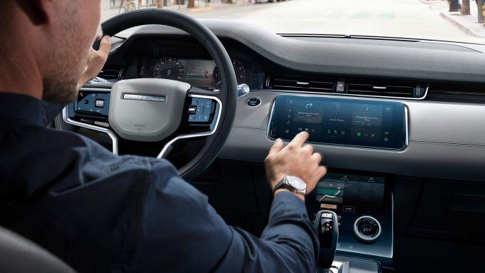 Range Rover Evoque 2020: il sistema multimediale adesso è più ''user friendly''