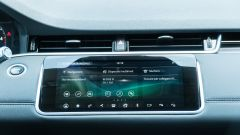 Range Rover Evoque 2020: lo schermo a centro plancia