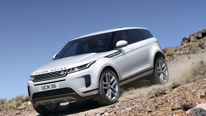 Range Rover Evoque 2020: motore diesel ibrido e trazione integrale