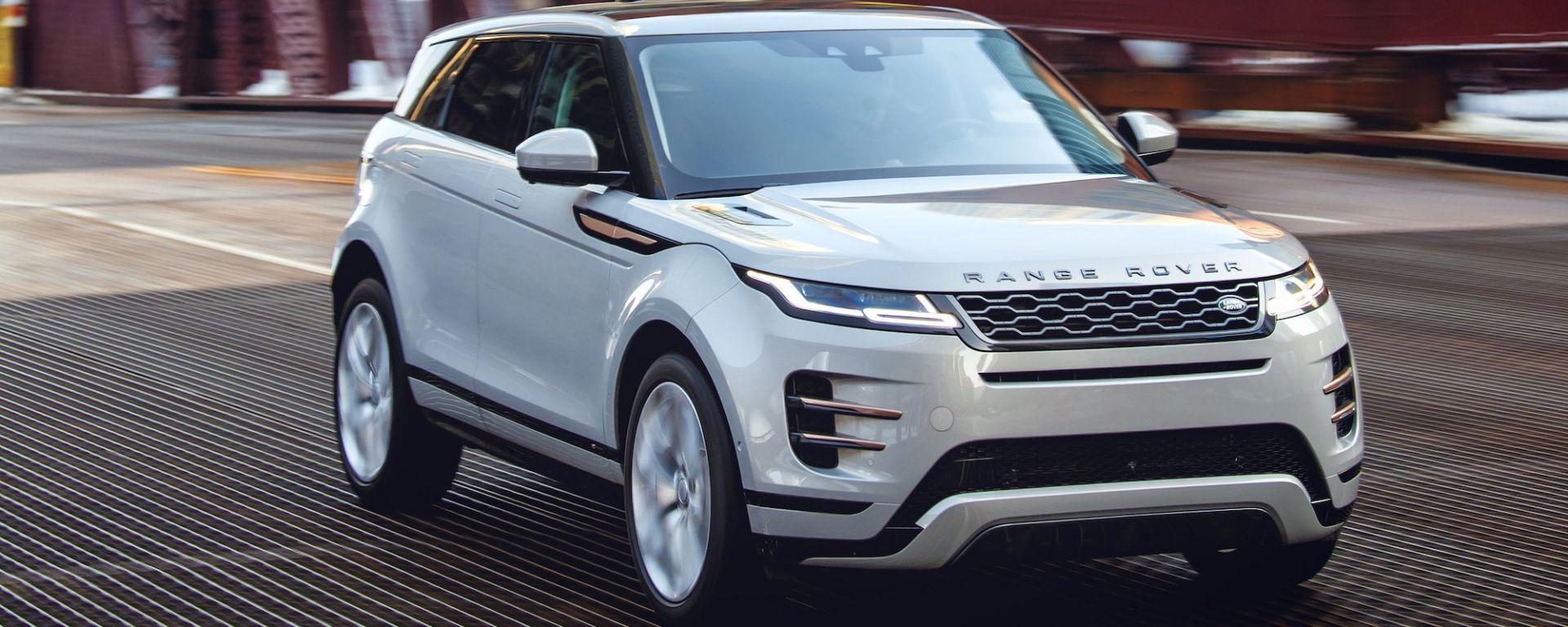 Range Rover Evoque 2020: nuovo motore e tecnologia avanzata