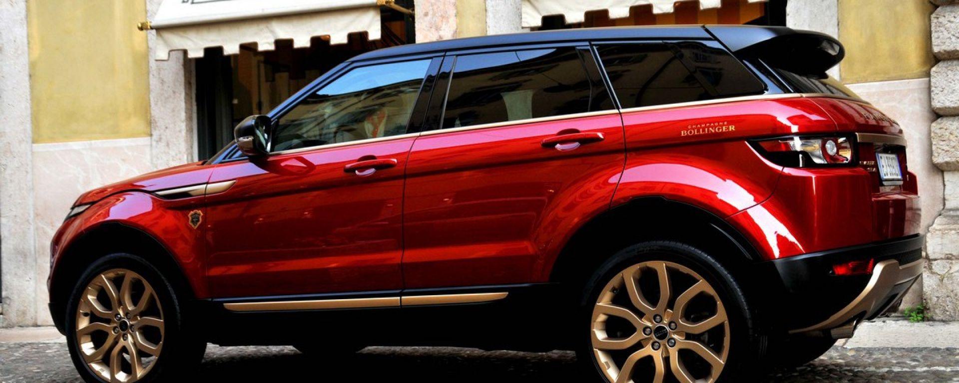 Honda Nord Sud >> Costume e società: Range Rover Evoque Bollinger Special ...