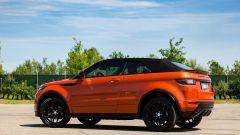 Range Rover Evoque Cabrio, cerchi da 20'' con gomme /45