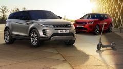 Range Rover Evoque e Discovery Sport: il monopattino è di serie