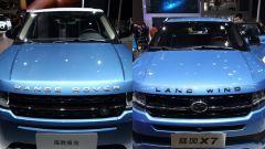 Range Rover Evoque copiata, Land Rover vince causa contro cinesi