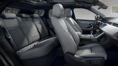 Range Rover Evoque, gli interni
