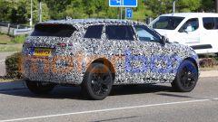 Range Rover Evoque: il 3/4 posteriore