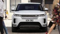 Range Rover Evoque, il frontale